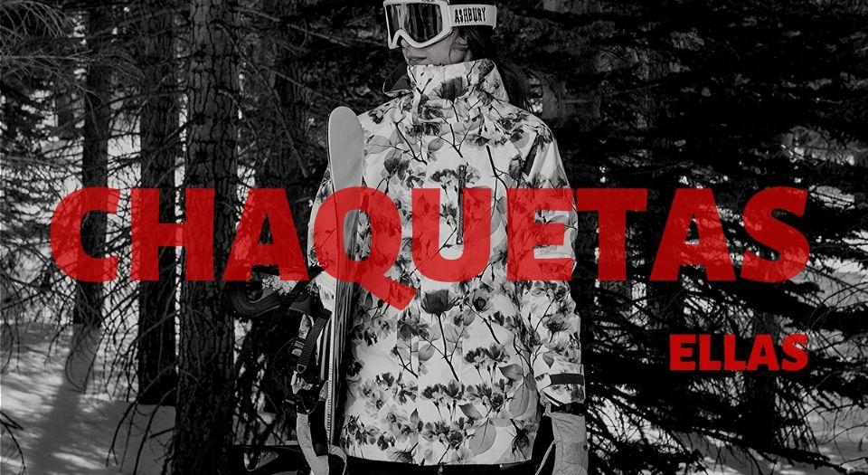 chaquetas snowboard mujer