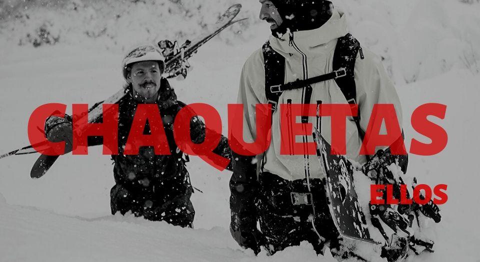 chaquetas snowboard hombre