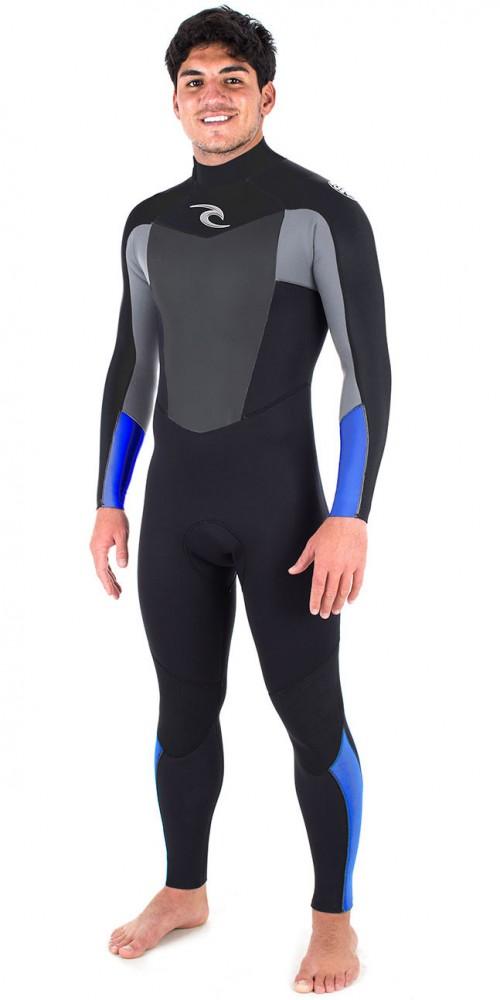 Neopreno de surf Rip Curl Omega 4/3 BZ STMR Blue