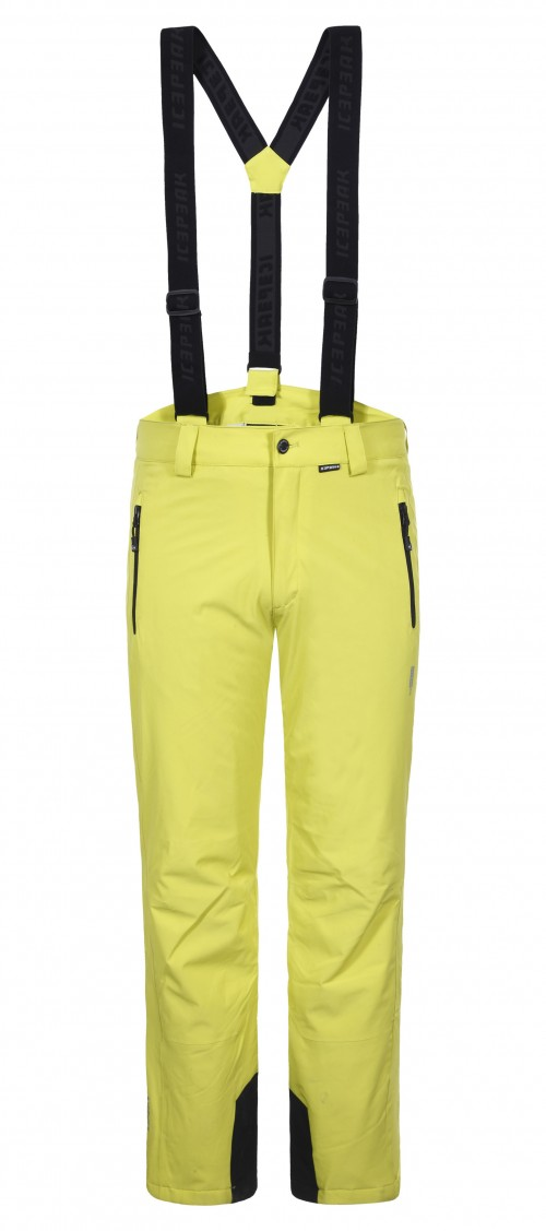 Pantalones de snowboard Icepeak Wadded Trousers Noxos Light Green