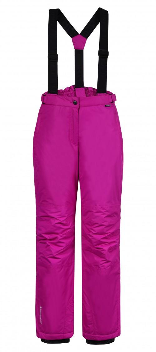 Pantalones de snowboard Icepeak Wadded Trousers Trudy Violet