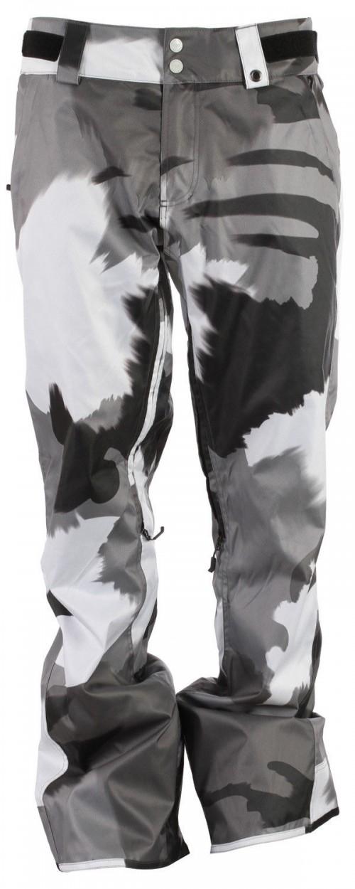 Pantalones de snowboard Neff Classic Pants Splamo Grey