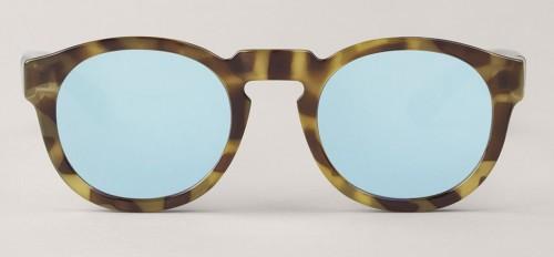 Gafas de sol Mr Boho Noord HC Tortoise Sky Blue Lenses