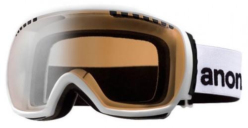 Gafas de snowboard Anon Comrade White-Silver Amber