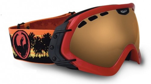 Gafas de snowboard Dragon Mace Red-Bronze Ionizado