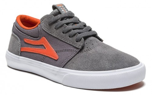 Zapatillas Lakai Griffin Kids Grey Rust Suede