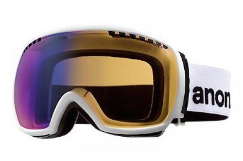 Gafas de snowboard Anon Comrade White-Blue Solex Lens