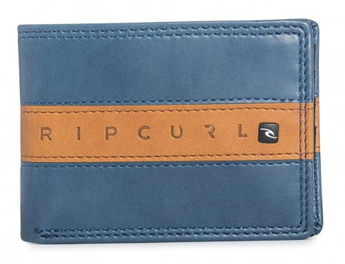 Cartera Rip Curl Word Boss Pu Slim Navy