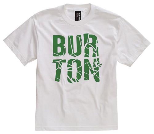 Camiseta Burton Boys Fracture SS Bright White