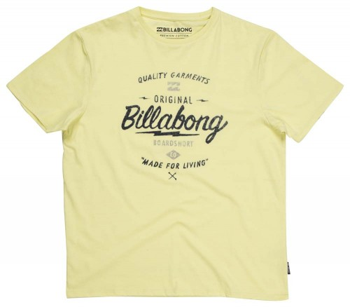 Camiseta Billabong Chopper SS Tee Dust Yellow