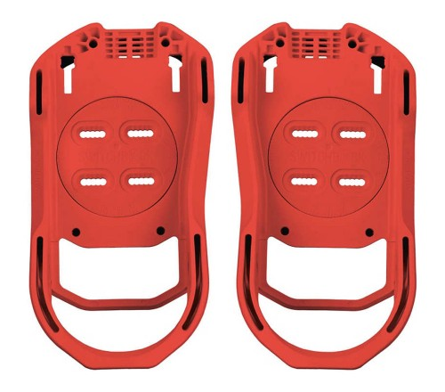 Fijaciones de snowboard Switchback Baseplate Warm Red