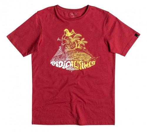 Camiseta Quiksilver Classic Crocoride SS Tee Chili Pepper