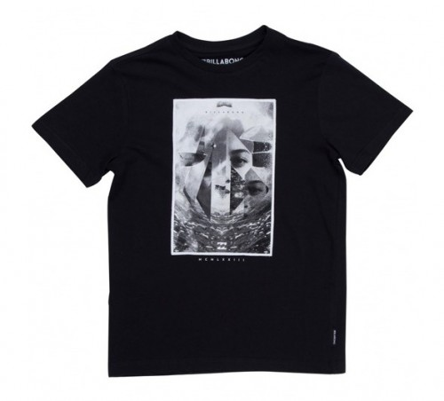 Camiseta Billabong Mirror SS Tee Black