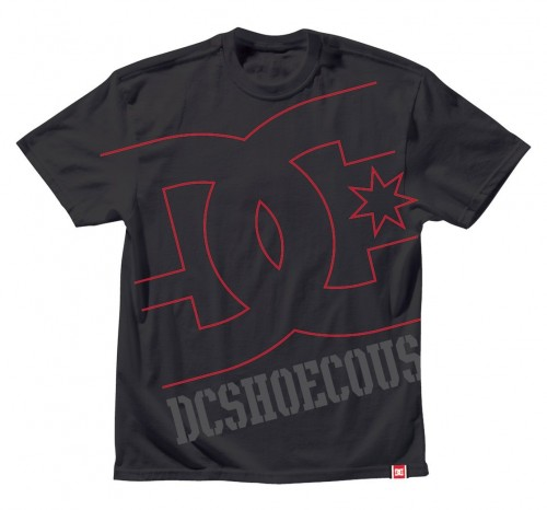 Camiseta DC RD USA Light Tee Black