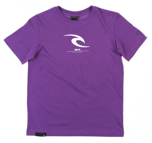 Camiseta Rip Curl Icon SS T-Shirt Amaranth Purple