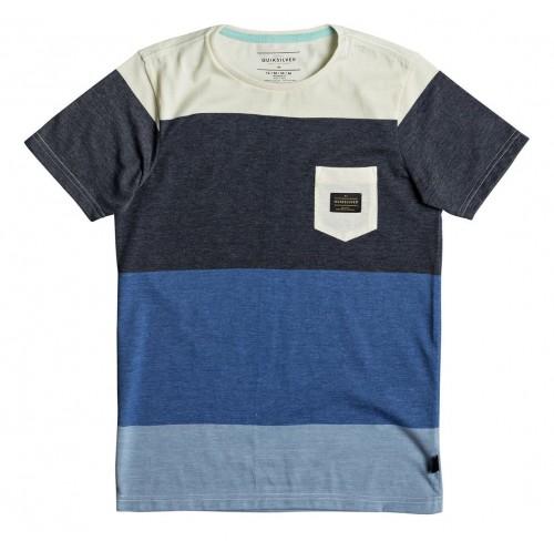 Camiseta Quiksilver Aspenshore Bright Cobalt Heather