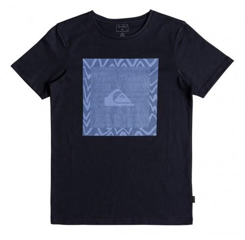 Camiseta Quiksilver Classic Nano Spano Navy Blazer
