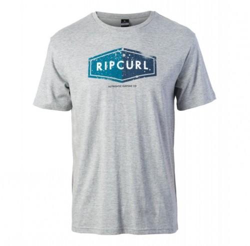 Camiseta Rip Curl Losange Logo Tee White Marble