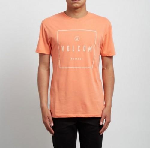 Camiseta Volcom Scribe DD Salmon