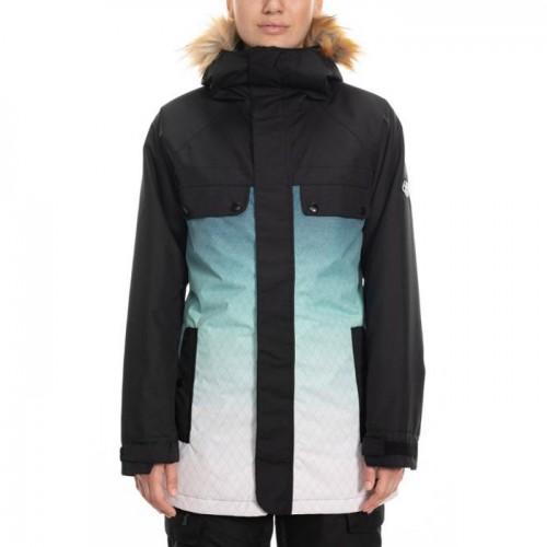 Chaqueta de snowboard 686 Dream Insulated Jacket Black Diamond Sublimation