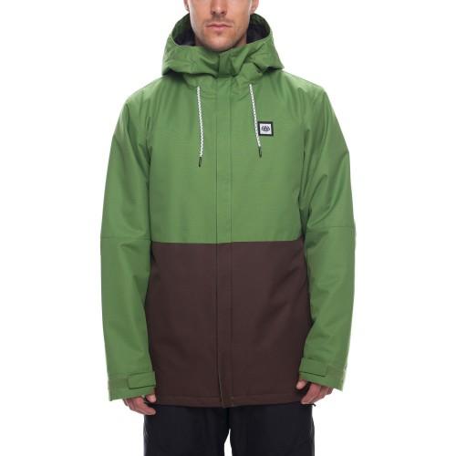 Chaqueta de snowboard 686 Foundation Insulated Jacket Camp Green Colorblock