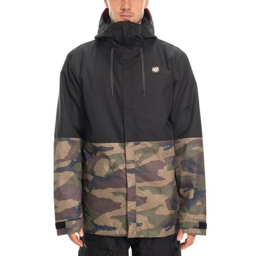 Chaqueta de snowboard 686 Foundation Insulated Jacket Dark Camo Colorblock
