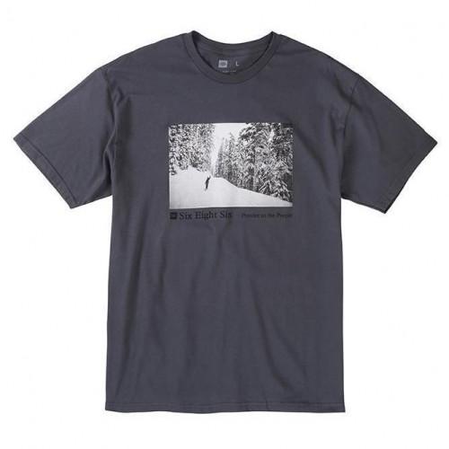 Camiseta 686 Landscape Tee Charcoal