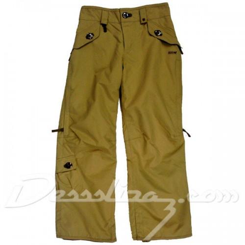 Pantalones de snowboard 686 Mannual Tonnic Ins Pants Khaki