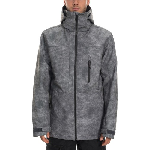 686 Mns Smarty Phase Softshell Jacket Charcoal Wash
