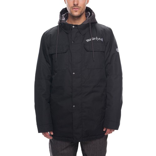 Chaqueta de snowboard 686 Motörhead Insulated Jacket Black Sublimation