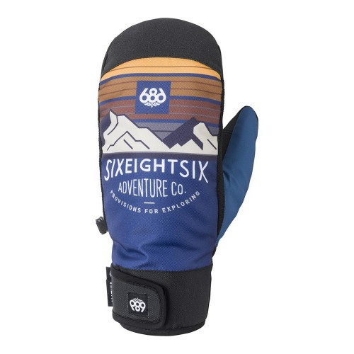 686 Mountain Mitt Blue Storm