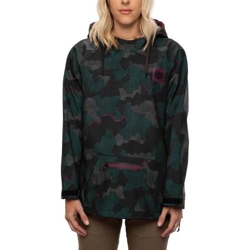 686 Wmns Waterproof Hoody Dark Spruce Treebark Camo