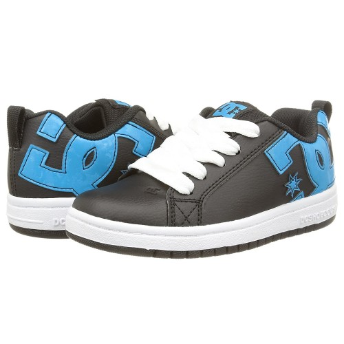Zapatillas de bebé DC Court Graffik Black/Ocean/White