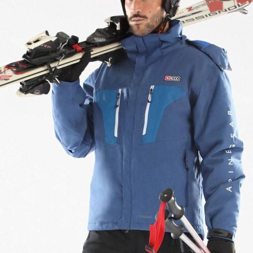 Chaqueta de snowboard +8000 Anorak Passet Azul Tinta Bicolor