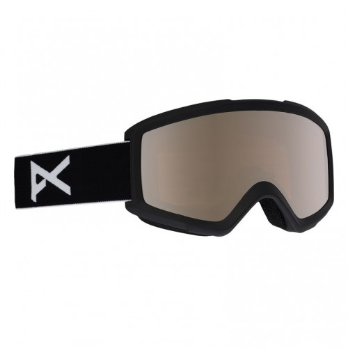 Gafas de snowboard Anon Helix 2.0 Spare Black/Silver Amber