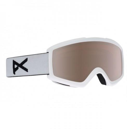 Gafas de snowboard Anon Helix 2.0 W/Spare White/Silver Amber