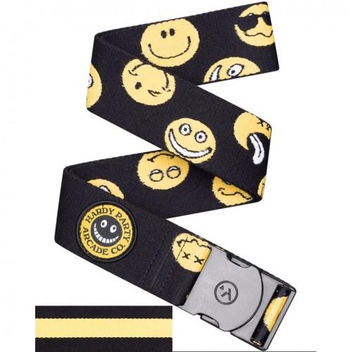 Cinturón Arcade Rambler Black/Smile Face