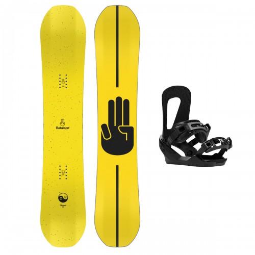 Pack de snowboard Bataleon Chaser Set 157