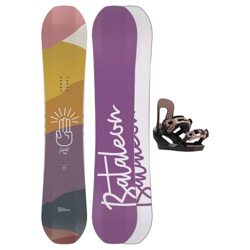 Pack de snowboard Bataleon Spirit 140