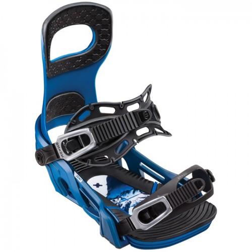Fijaciones de snowboard Bent Metal Joint Blue 2019
