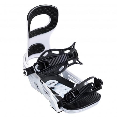 Fijaciones de snowboard Bent Metal Joint White 2020