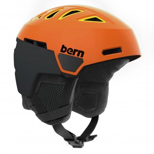 Casco de snowboard Bern Heist Satin Burnt Orange