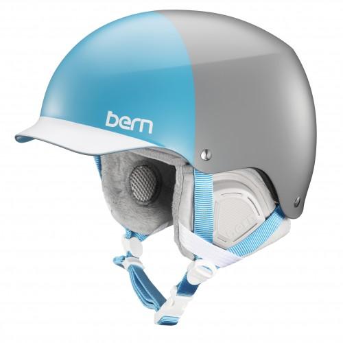 Casco de snowboard Bern Muse Satin Grey Hatstyle/Grey Liner