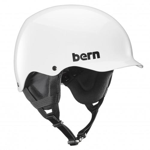 Casco de snowboard Bern Team Baker Gloss White/Black Liner