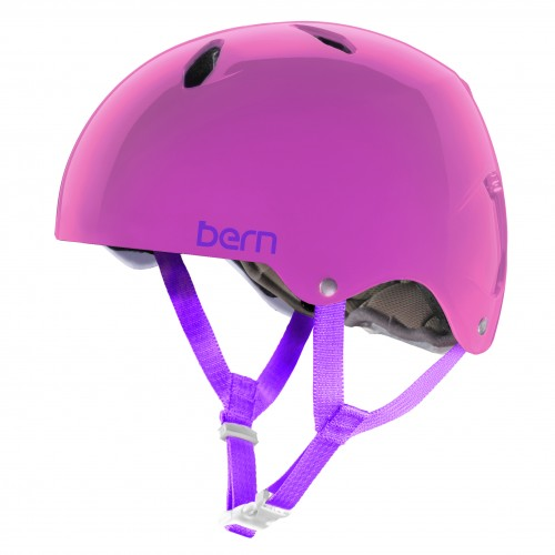 Casco de snowboard Bern Team Diabla Translucent Pink/White Liner