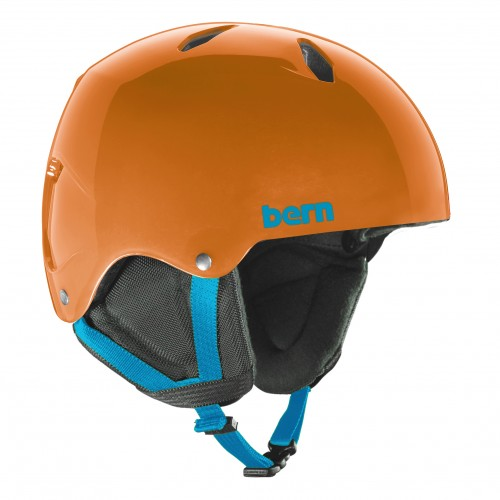 Casco de snowboard Bern Team Diablo Translucent Orange/Black Liner