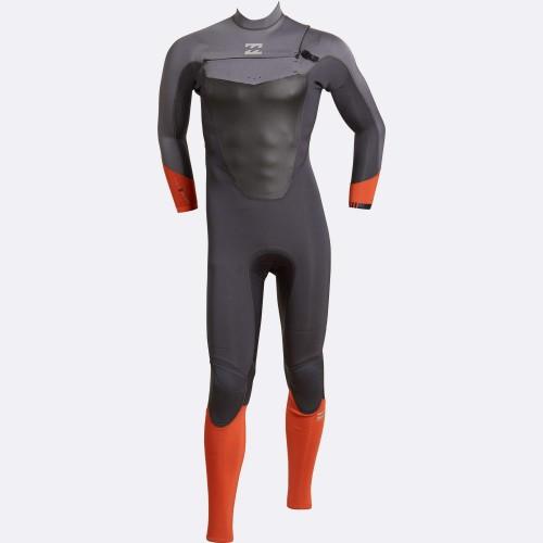 Neopreno de surf Billabong Absolute 4/3 Comp C/Z Orange