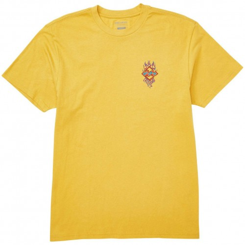 Billabong Archfire Tee Golden