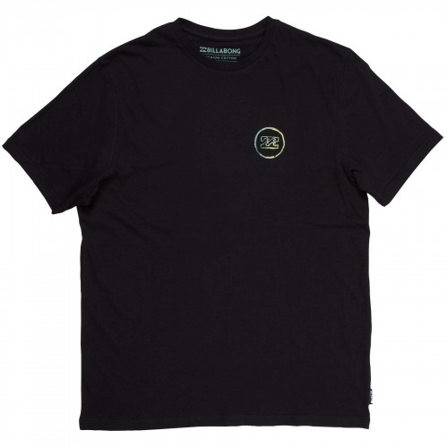 Camiseta Billabong Creed Fader SS Tee Black