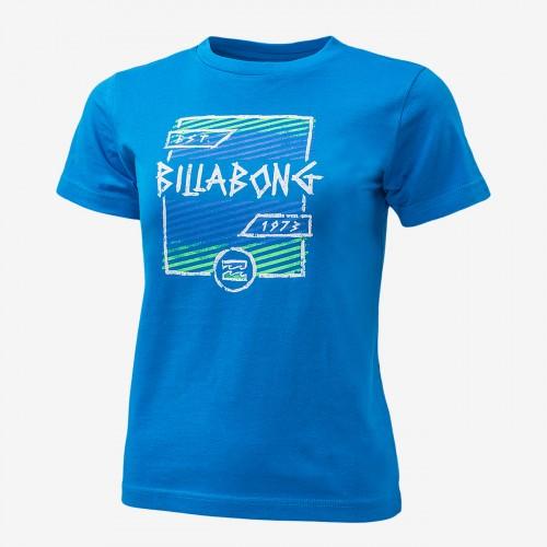 Camiseta Billabong Duration SS Tee Azure Blue
